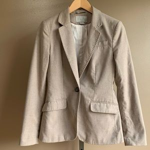 H&M women's gray blazer sport coat jacket